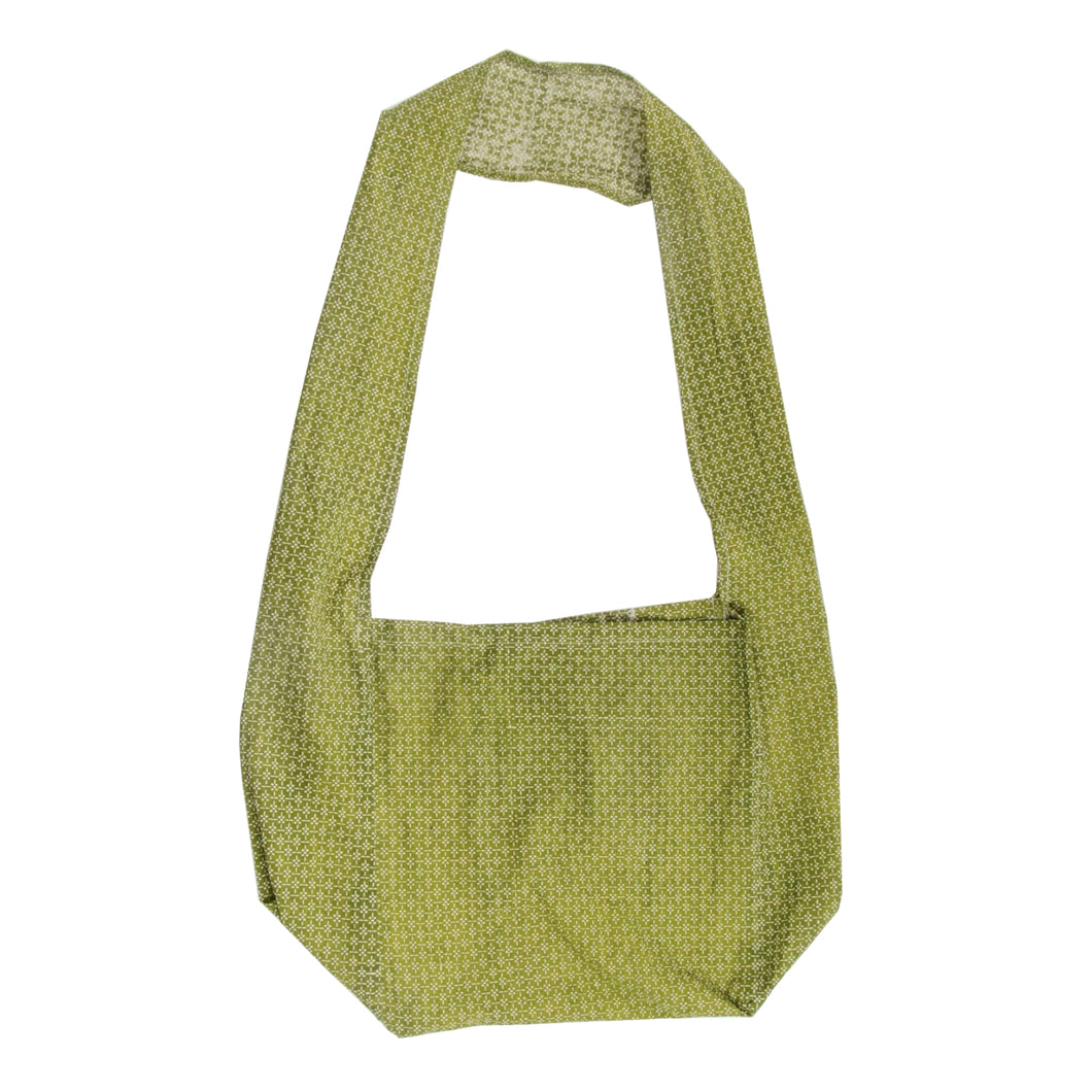 Reusable Shopping Bag with Long Handle - Myrtle Olive