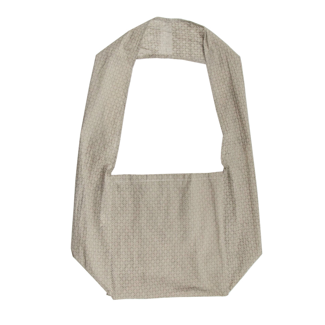 Reusable Shopping Bag with Long Handle - Myrtle Taupe