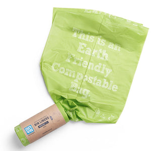 Onya Compostable Bin Bag Liner - Medium 30L (25 Pack)