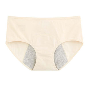 Leak Proof Period Underwear - Beige-Underwear-MintEcoShop