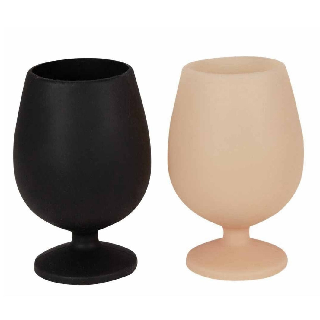 Porter Green Stemm Unbreakable Silicone Wine Glasses - Kampala