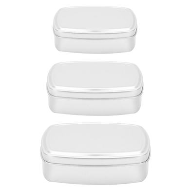 Storage Tin Set - Rectangle (3 Pack)