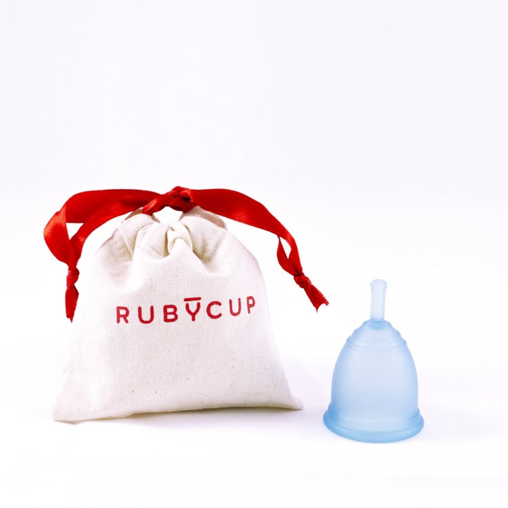 Ruby Menstrual Cup - Blue