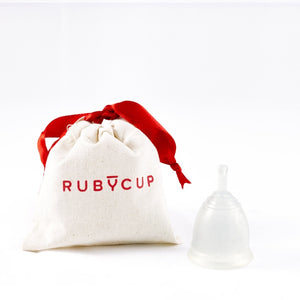 Ruby Menstrual Cup - Clear