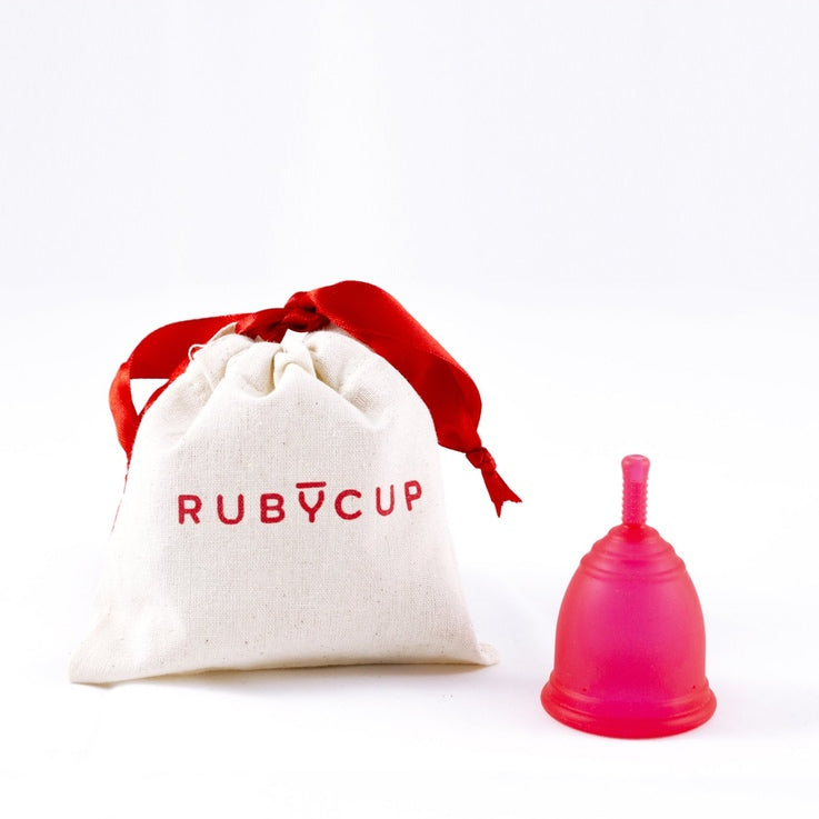 Ruby Menstrual Cup - Red