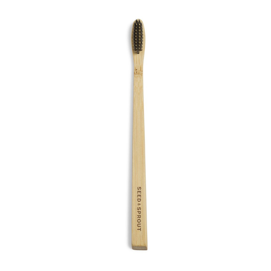 Seed & Sprout Bamboo Toothbrush - Adult