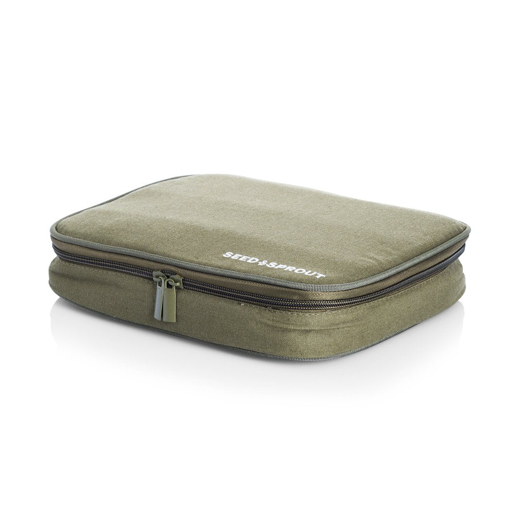 Seed & Sprout Minimal Hemp Fibre Lunch Box Case