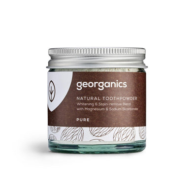 Georganics Natural Toothpaste Powder - Pure Unflavoured (60ml)