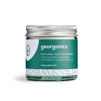Georganics Natural Toothpaste Powder - Spearmint (60ml)