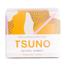 Load image into Gallery viewer, Tsuno Bamboo Pads - Panty Liners (20 Pack)
