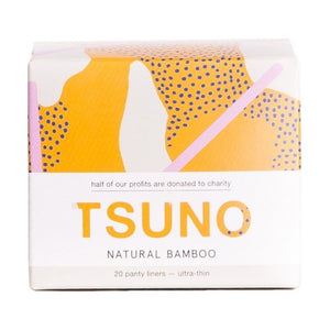 Tsuno Bamboo Pads - Panty Liners (20 Pack)