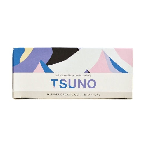 Tsuno Organic Cotton Tampons - Super (16 Pack)