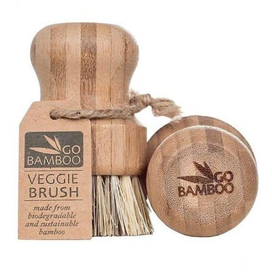 Bamboo Veggie Brush-kitchen-MintEcoShop