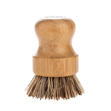 Wombat Coarse Bamboo Pot Scrubbing Brush