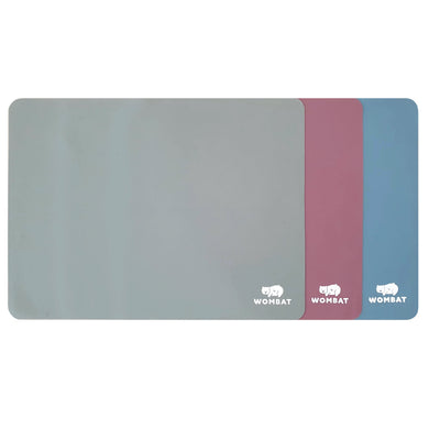 Wombat Reusable Non-Stick Silicone Baking Mats (3 Pack)