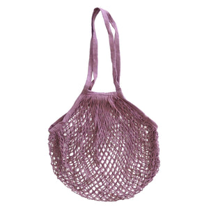 Wombat String Cotton Bag - Soft Pink