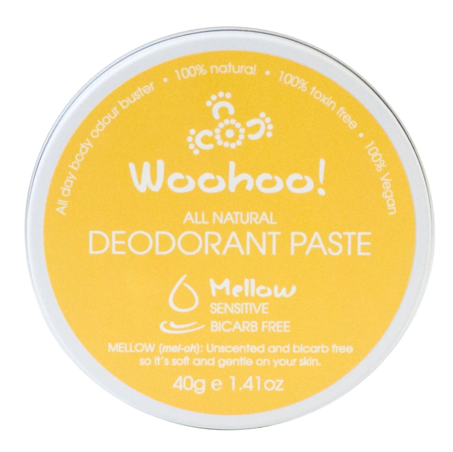 Deodorant in a Tin - Mellow for Sensitive Skin (40g)-body-MintEcoShop