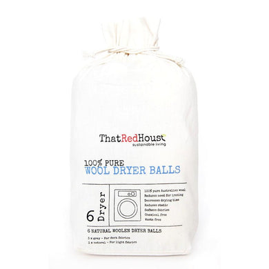 That Red House Wool Dryer Balls (6 Pack)