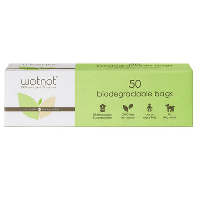 Biodegradable Compostable Bags (50 Pack)-kitchen-MintEcoShop