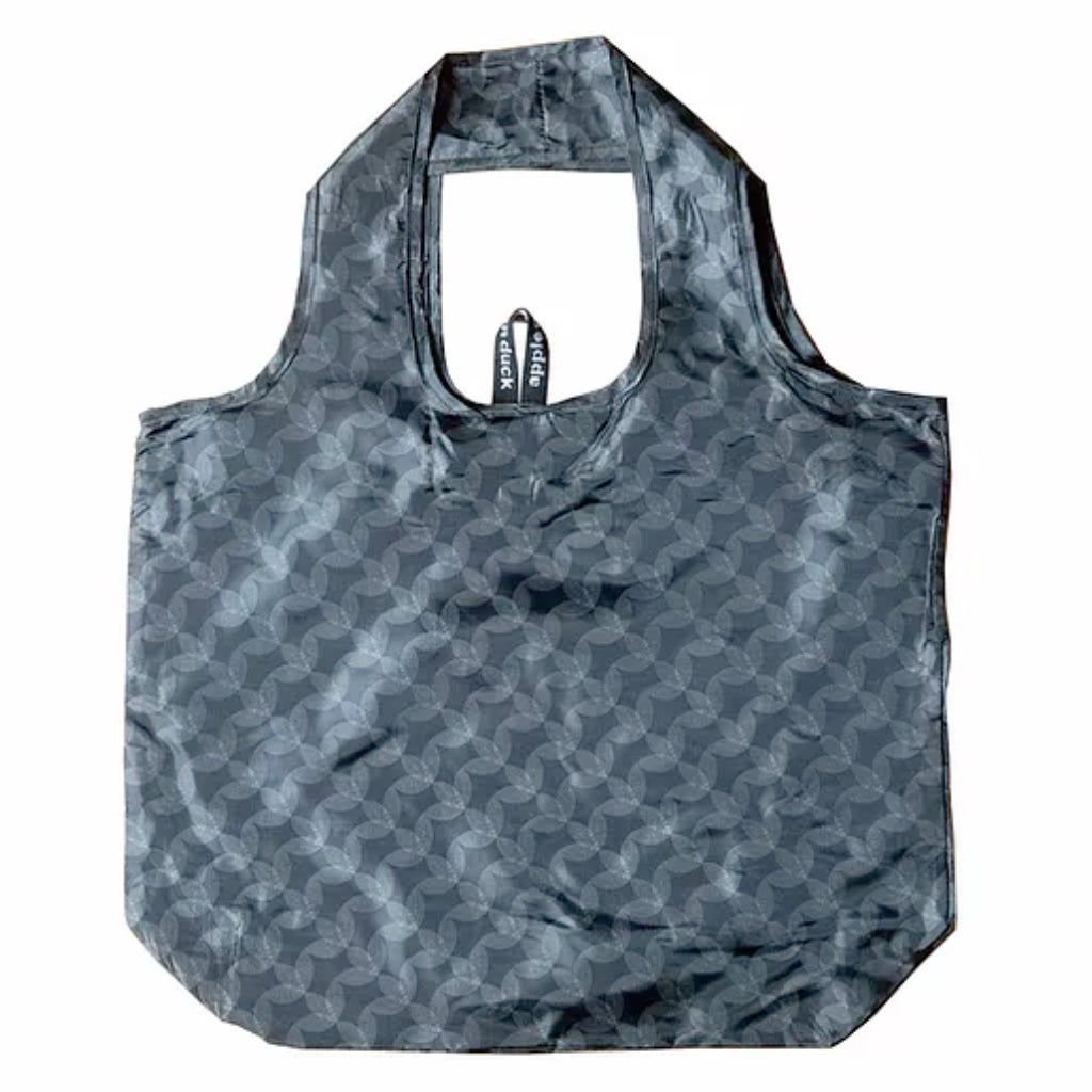 Reuable Shopping Bag - Yetty Leaf Charcoal