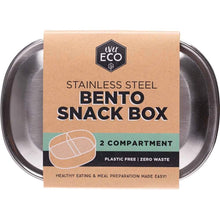 Load image into Gallery viewer, Bento Snack Box - 2 compartments-out & about-MintEcoShop