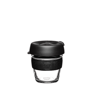 KeepCup Reusable Coffee Cup - Brew Extra Small 6oz (Black)