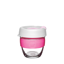 Load image into Gallery viewer, KeepCup Reusable Coffee Cup - Brew Small 8oz White/Pink (Hazel)