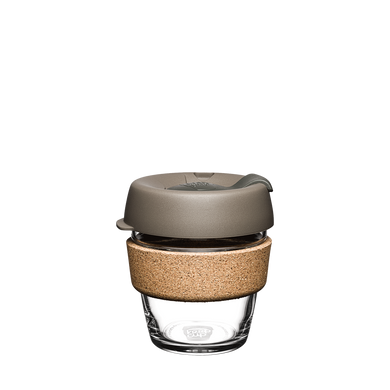 KeepCup Reusable Coffee Cup - Brew Cork Extra Small 6oz Taupe (Latte)