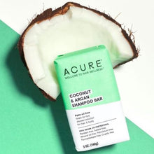 Load image into Gallery viewer, Acure Coconut & Argan Shampoo Bar (140g)