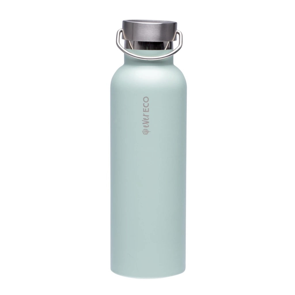 Insulated Stainless Steel Bottle - Sage Green (750ml)-out & about-MintEcoShop
