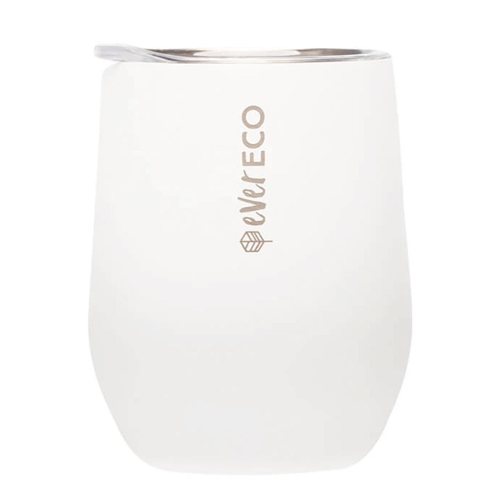 Insulated Tumbler - Cloud White (354ml)-out & about-MintEcoShop