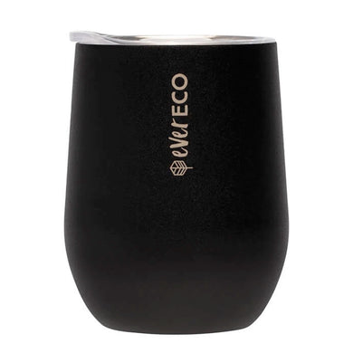 Insulated Tumbler - Onyx Black (354ml)-out & about-MintEcoShop