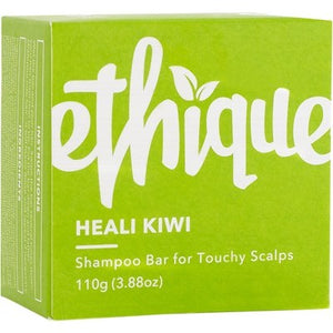 Ethique Solid Shampoo Bar - Heali Kiwi for Sensitive Scalps (110g)