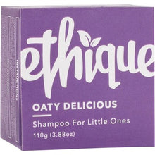 Load image into Gallery viewer, Ethique Kids Solid Shampoo Bar - Oaty Delicious for Little Ones (110g)