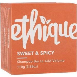 Ethique Solid Shampoo Bar - Sweet & Spicy for Adding Volume (110g)