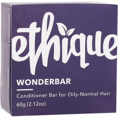 Ethique Solid Conditioner Bar - Wonderbar for Normal to Oily Hair (60g)