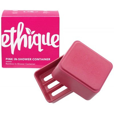 Ethique Bamboo & Cornstarch Shower Container - Pink