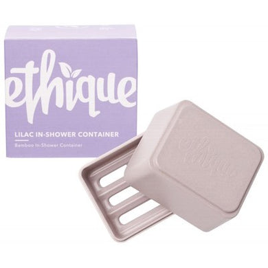 Ethique Bamboo & Cornstarch Shower Container - Lilac