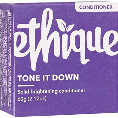 Ethique Solid Purple Conditioner Bar - Tone it Down (60g)