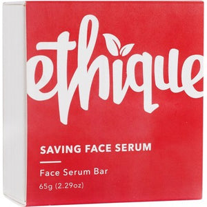 Ethique Solid Face Serum Bar - Saving Face for Normal to Dry Skin (65g)