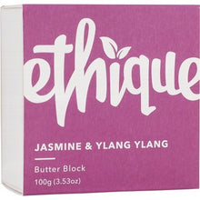 Load image into Gallery viewer, Ethique Body Butter Block - Jasmine & Ylang Ylang (100g)