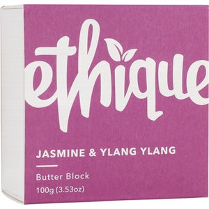 Ethique Body Butter Block - Jasmine & Ylang Ylang (100g)