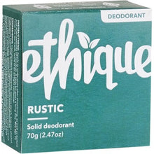Load image into Gallery viewer, Ethique Solid Deodorant Bar - Rustic (70g)