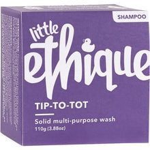 Load image into Gallery viewer, Ethique Kids Solid Shampoo and Bodywash - Tip-to-Tot (110g)