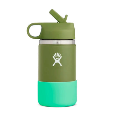 Hydro Flask Kids Insulated Stainless Steel Drink Bottle (354ml) - Olive