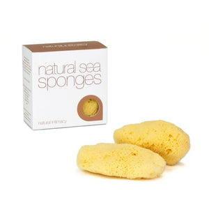 IntimateCare Menstrual Sea Sponges - Bleached Large (2 Pack)