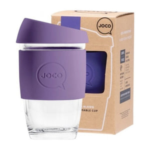 Joco Reusable Glass Coffee Cup X Small 6oz/177ml - Violet