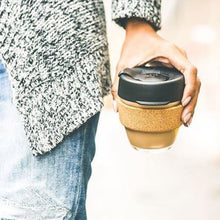 Load image into Gallery viewer, KeepCup Reusable Coffee Cup - Brew Cork Small 8oz Brown (Almond)