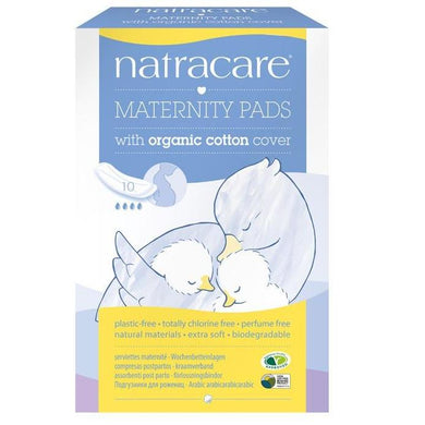 Natracare Pads - Maternity (10 Pack)-Pads & Liners-MintEcoShop
