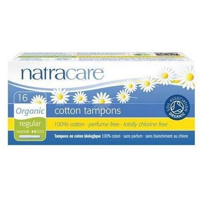Natracare Tampons with Applicator - Regular (16 Pack)